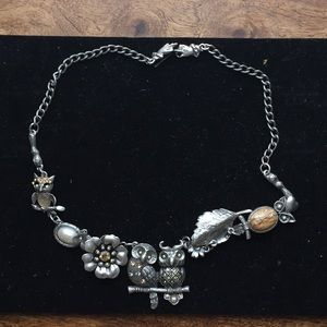 Artistic hand made necklace